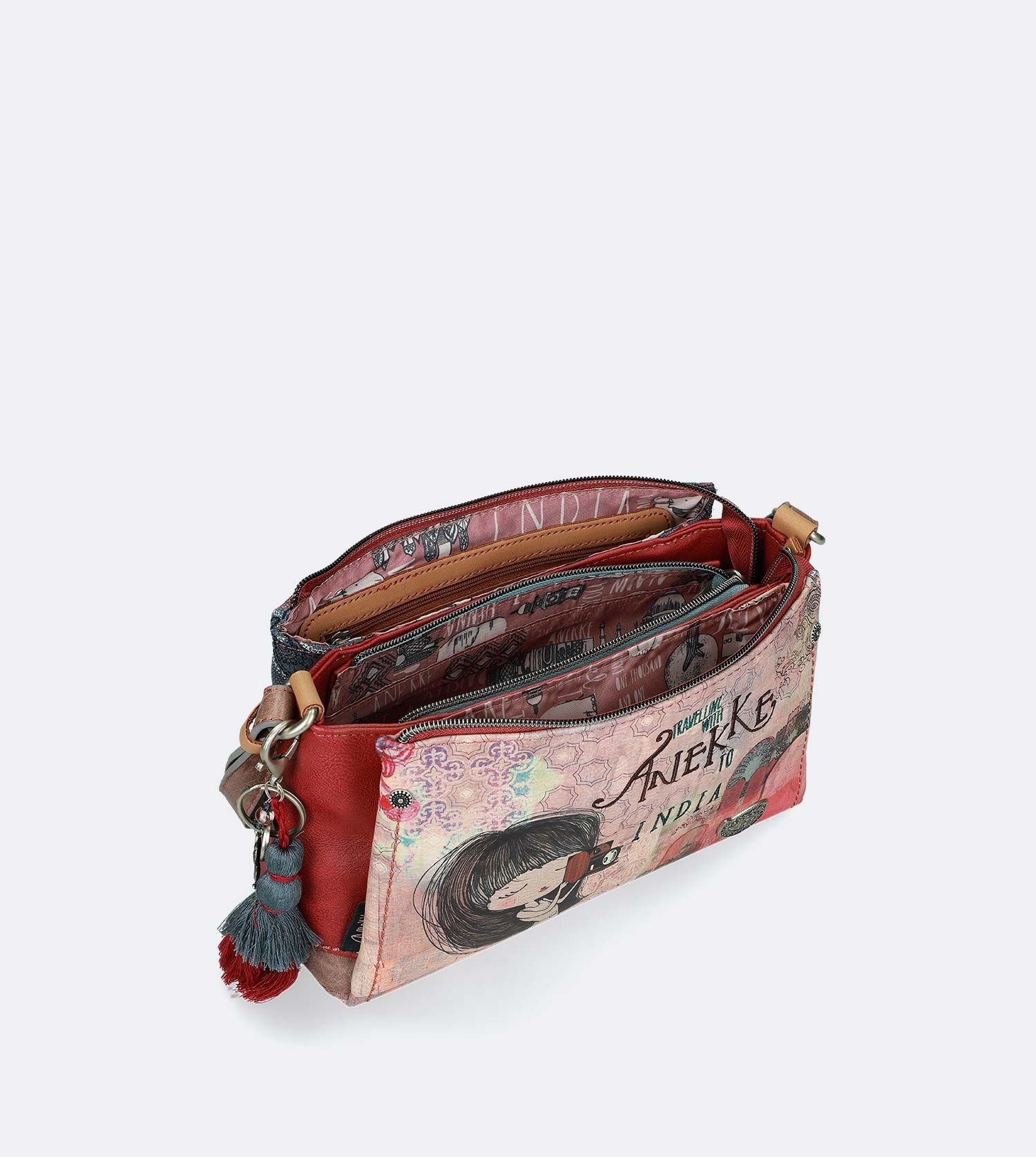 Anekke India - Crossbody kabelka 28872-40
