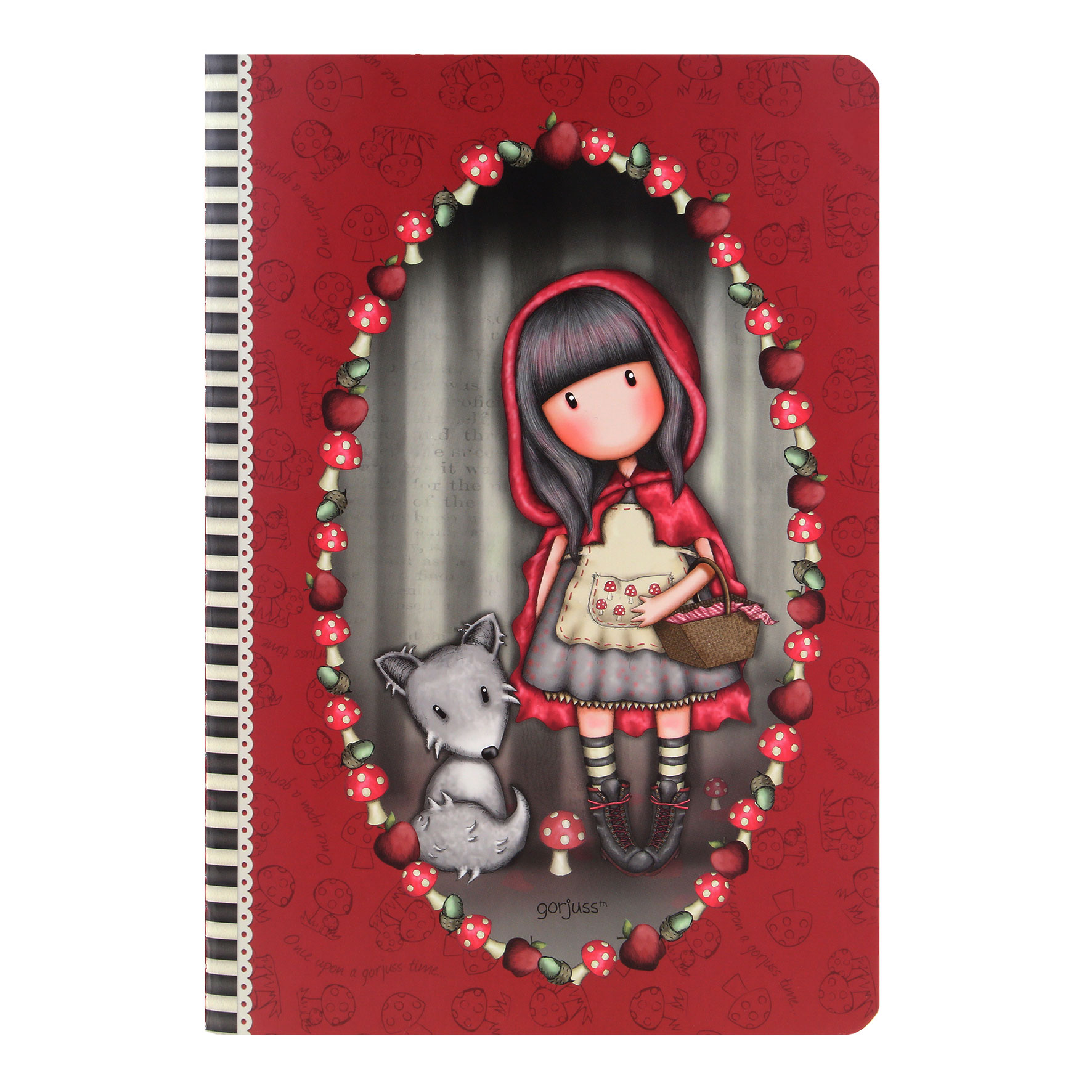 Santoro Gorjuss - Little Red Riding Hood - Zošit A5 s obalom